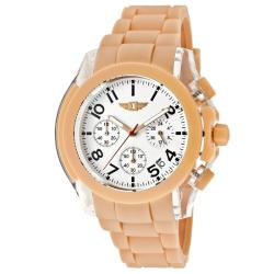 I by Invicta Men's Salmon Polyurethane Watch
