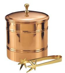 Old Dutch D�cor Copper Lined Ice Bucket with Tongs