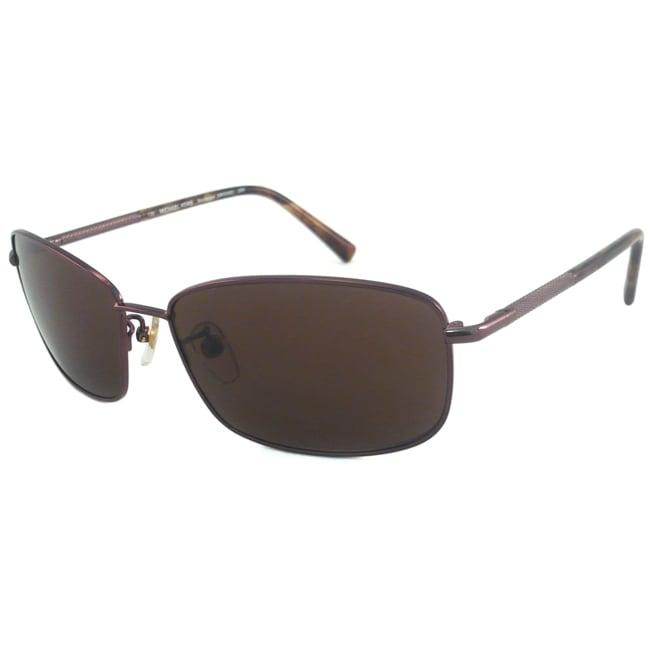 Michael Kors Men's/ Unisex MKS492M Bradenton Rectangular Sunglasses