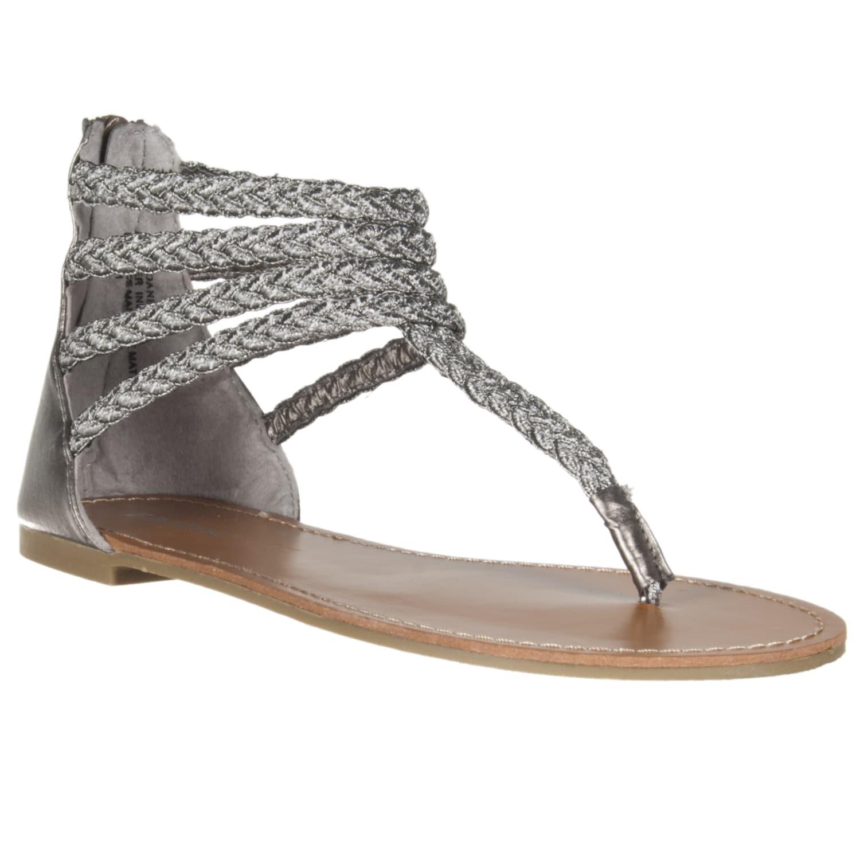 Riverberry Women's 'Sloane' Pewter Gladiator Sandal