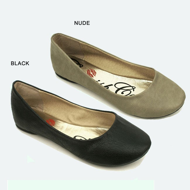 I-Comfort Women's Round-toe Flats