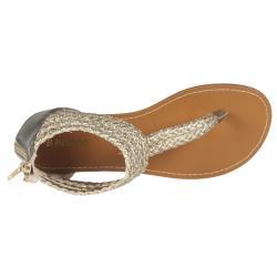 Riverberry Women's 'Sloane' Gold Gladiator Sandal