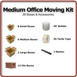 Medium Office Moving Kit