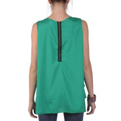 Tressa Designs Women's Contemporary Plus Layered Scoop Neck Tunic