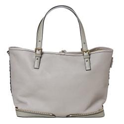 Chloe 'Ellen Moyen' Grey Leather Tote Bag