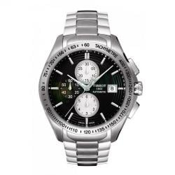 Tissot Men's Veloci-T Black Automatic Watch