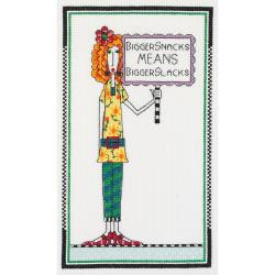 Tinkle in your Pants (cross stitch kit)