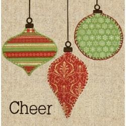 "Cheer Fabric Applique Kit-8""X8"""