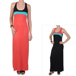 T by Hailey Jeans Co. Juniors Colorblock Racerback Maxi Dress