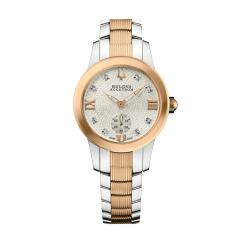 Accutron Masella Women&#39;s Two-tone Stainless Steel Watch