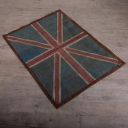 Union Jack Flag Rug (5 x 7) (India)