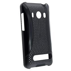Black Case/ Screen Protector for HTC EVO 4G