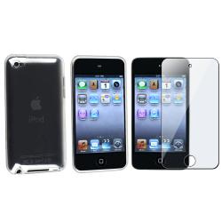 Clear TPU Case/ Screen Protector for Apple iPod Touch 4th Generation