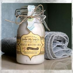 Natural Honey Almond Lotion Creme | Handmade