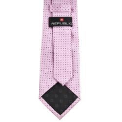 Republic Men's Dotted Pink Tie