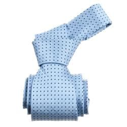 Republic Men's Dotted Light Blue Tie