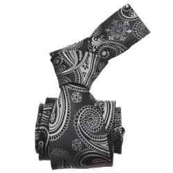 Republic Men's Paisley Woven Microfiber Tie