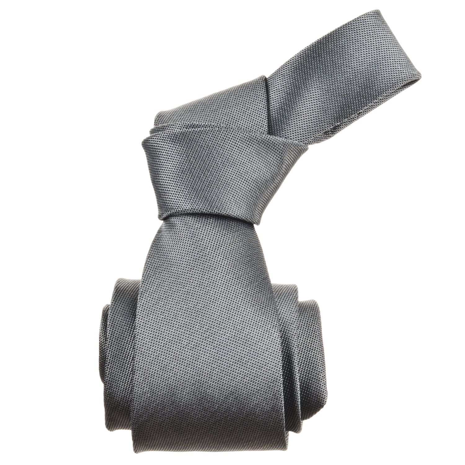 Republic Men's Solid Grey Tie