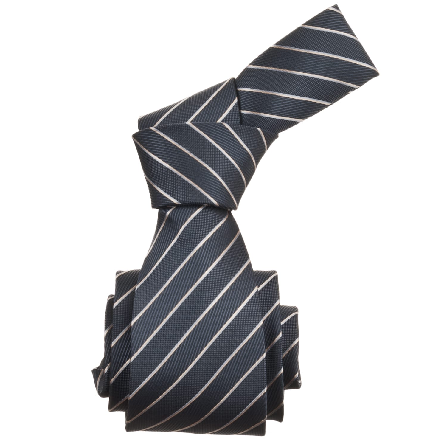 Republic Men's Striped Woven Microfiber Tie
