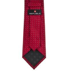 Republic Men's Patterened Woven Microfiber Tie