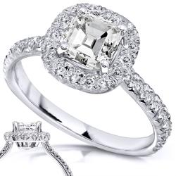 14k White Gold 1-2/5ct TDW Diamond Engagement Ring (H-I, SI1-SI2)