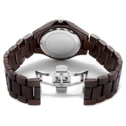 Invicta Unisex 'Ceramics' Brown Ceramic Watch