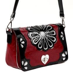 Nicole Lee Enola Flower Power Cross-body Handbag
