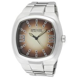 Kenneth Cole Reaction Men's Silvertone Base Metal Watch