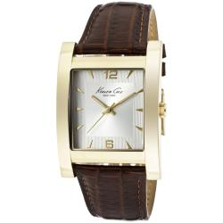 Kenneth Cole Men's Brown Genuine Leather Watch