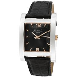 Kenneth Cole Men's Black Genuine Leather Watch