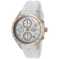 Invicta Women's 'Specialty' White Polyurethane Watch
