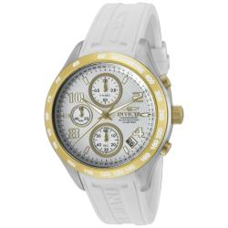 Invicta Women's 'Specialty' White Polyurethane Watch