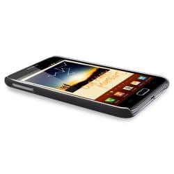 Black Rubber Case/ Screen Protector for Samsung� Galaxy Note N7000
