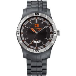 Hugo Boss Men's Grey Polycarbonate Watch