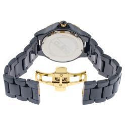 a_line Women's 'Marina' Blue Ceramic Watch