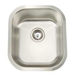 Artisan Stainless Steel Single Bowl Kitchen Sink