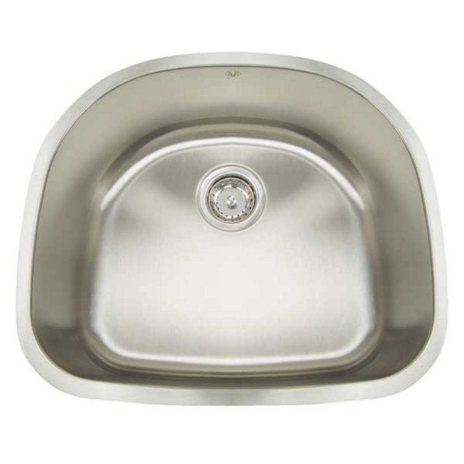 Artisan Premium Collection 16-gauge Stainless Steel 23-inch Undermount Single Basin Kitchen Sink