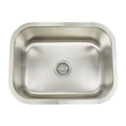 Artisan Premium Collection 16-gauge Stainless Steel 23-inch Undermount Single Basin Utility Kitchen Sink
