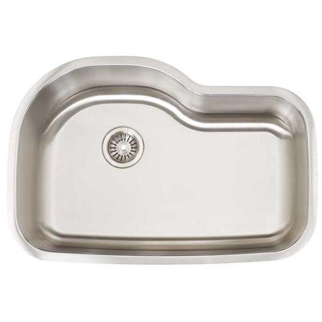 Artisan Premium Collection 16-gauge Stainless Steel Undermount Single Basin Kitchen Sink