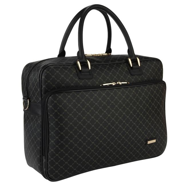 Rioni Signature Black Travel 14 inch Laptop Carrier