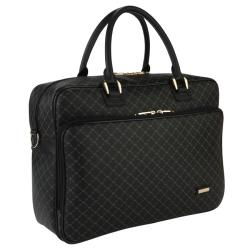 Rioni Signature Black Travel 14-inch Laptop Carrier
