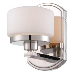 Nuvo 'Austin' 1-light Polished Nickel Vanity Fixture