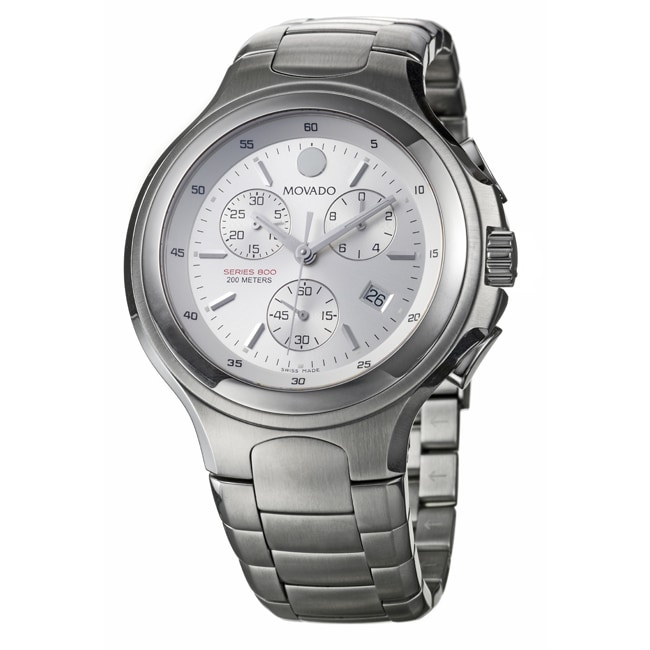 Movado Men's 'Series 800' Stainless Steel Watch