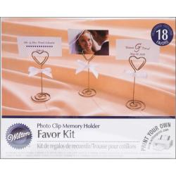 Photo Clip Favor Kit 18/Pkg-4IN