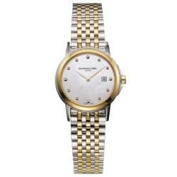 Raymond Weil Women's Tradition Two-tone Steel Bracelet Watch