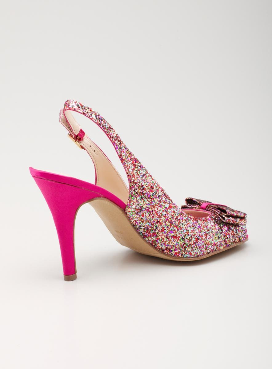 Unisa High Heeled Evening Glitter Pump