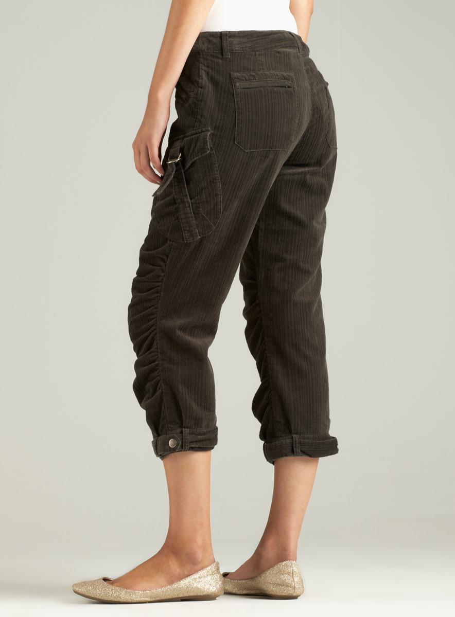Buffalo Devon Cotton Cord Capri Pant