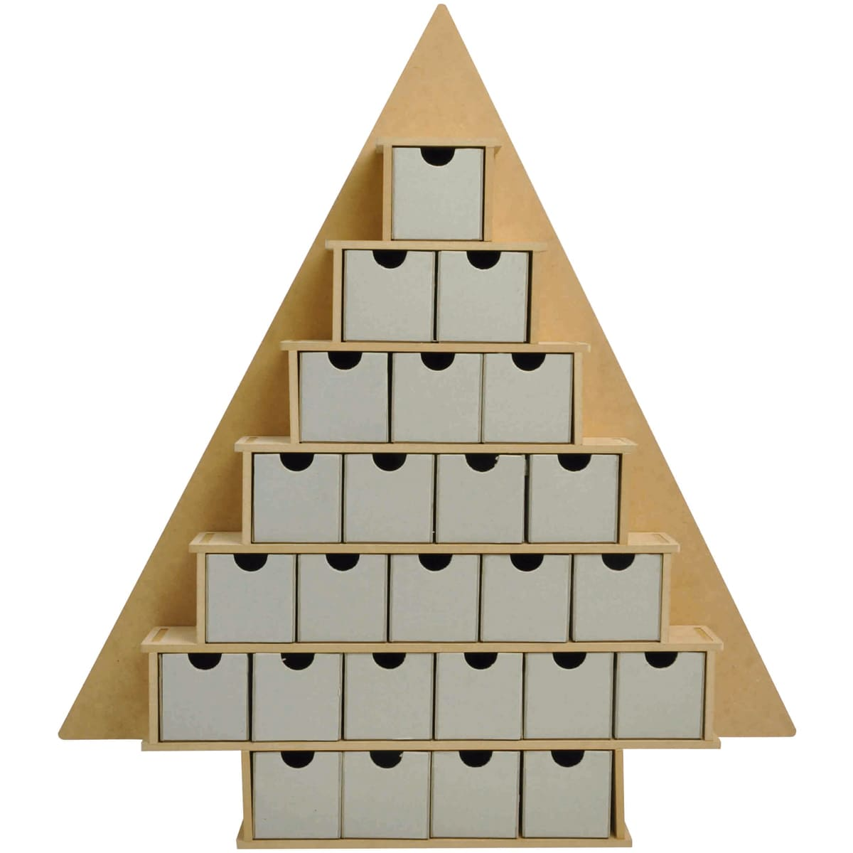 Beyond The Page MDF Large Tree With Drawers Advent Calendar