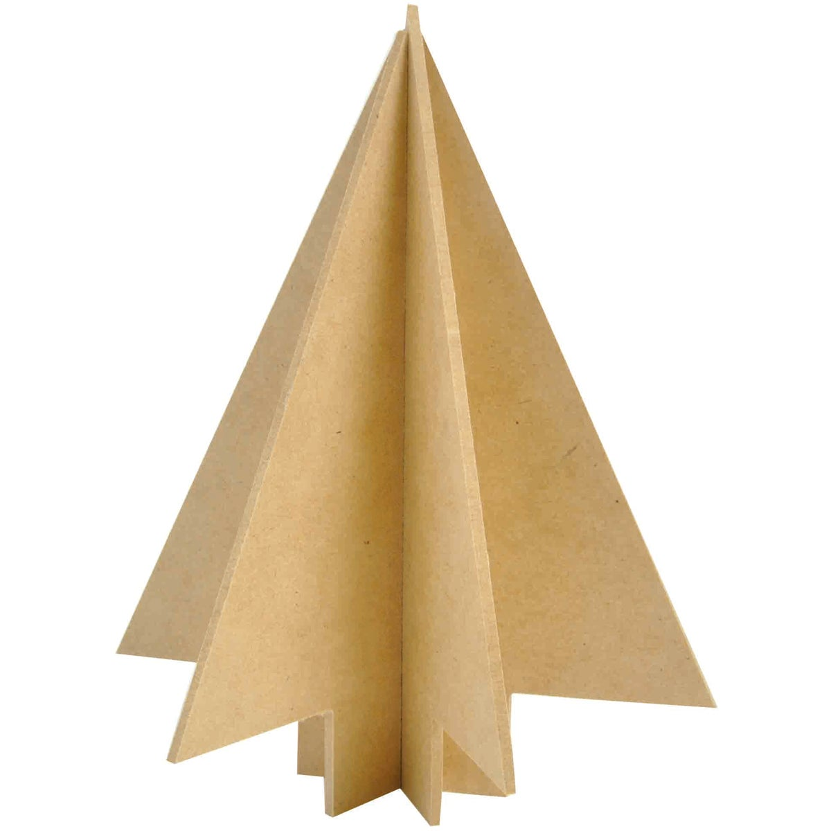 "Beyond The Page MDF Dimensional Slot Christmas Tree-6.5""X8.5"" Assembled"
