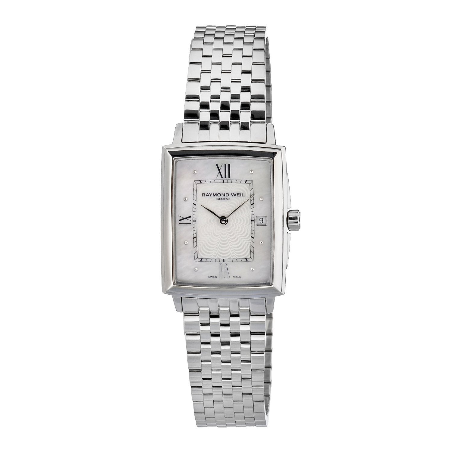 Raymond Weil Women's Stainless Steel Mother of Pearl Watch